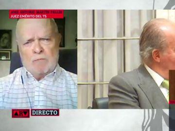 """Martín Pallín, juez emérito del Supremo: """"¿Si el rey fuera pederasta, alguien defendería que fuera inviolable?"""""""