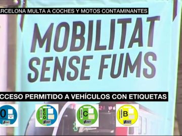Entra en vigor la 'zona de bajas emisiones' de Barcelona: esto es lo que debes saber antes de entrar en coche a la ciudad condal