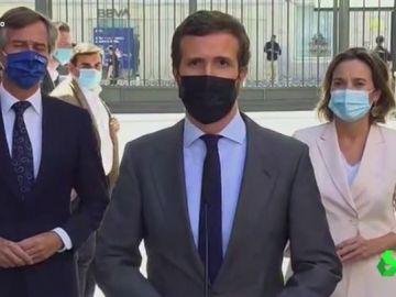 Vídeo manipulado - El intenso discurso de Pablo Casado