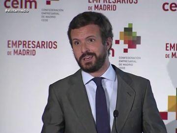 La comparación de Pablo Casado entre el 11S y la crisis del coronavirus en España indigna a Wyoming
