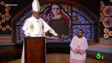 El papa Wyoming y el monaguillo Mateo leen 'la palabra de Aznar
