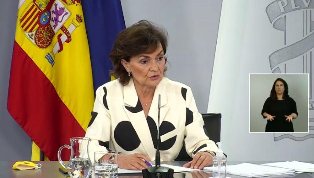 Iglesias se reune con ERC y Bildu mientras Calvo continúa con su ronda con todos los grupos para negociar los Presupuestos