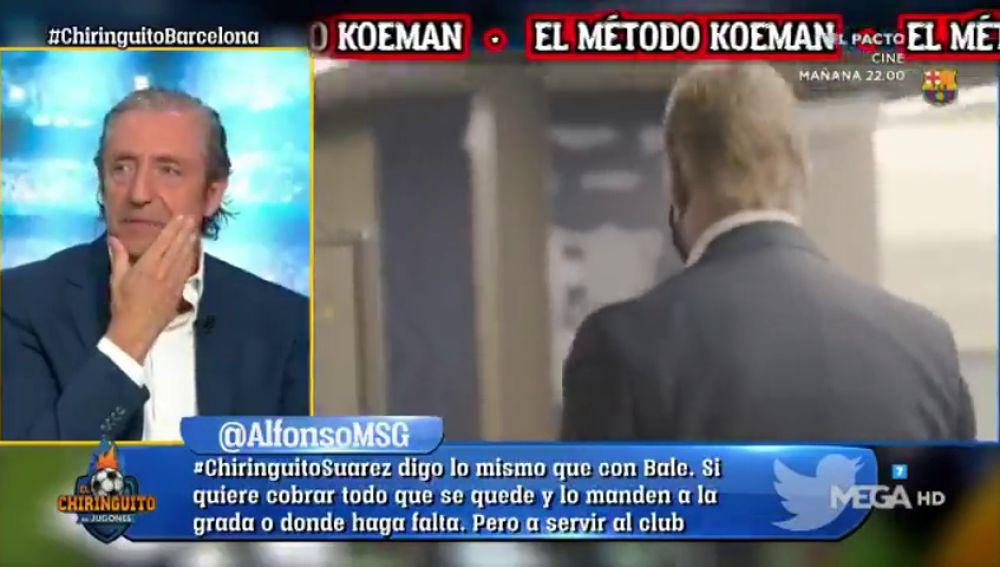 Josep Pedrerol desvela la anécdota más tacaña del Barça de los Guardiola, Koeman...