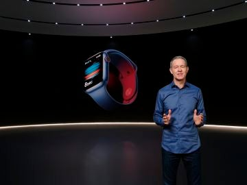Una pantalla más reforzada para el nuevo Apple Watch y otras novedades desveladas en el gran evento de Apple