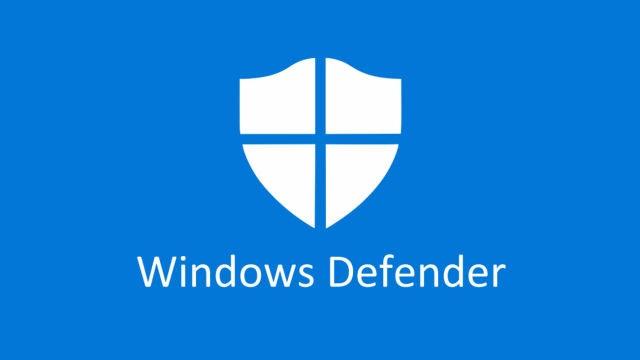 Windows Defender, el antivirus por defecto de Windows 10.