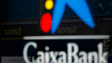 El logo de Caixabank.