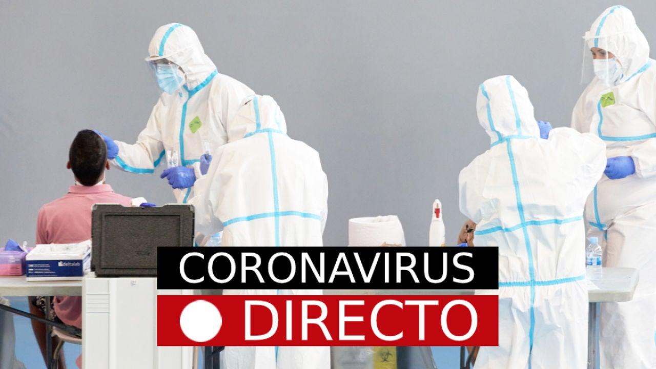 Coronavirus España hoy: Nuevas restricciones en Madrid, última hora de la COVID-19, en directo