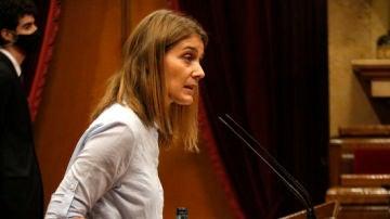 Jèssica Albiach, candidata de En Comú Podem a la Generalitat