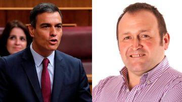 Pedro Sánchez y Juan Carlos Gómez Matesanz