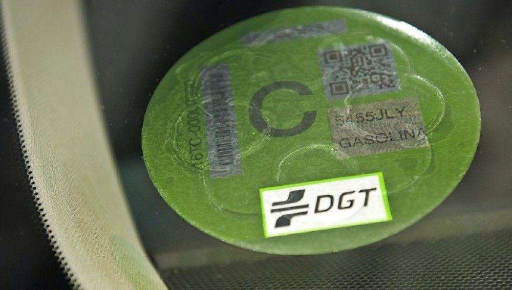 Pegatinas de la DGT
