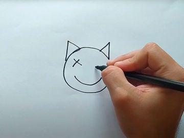 Dibujando un QR con forma de gato