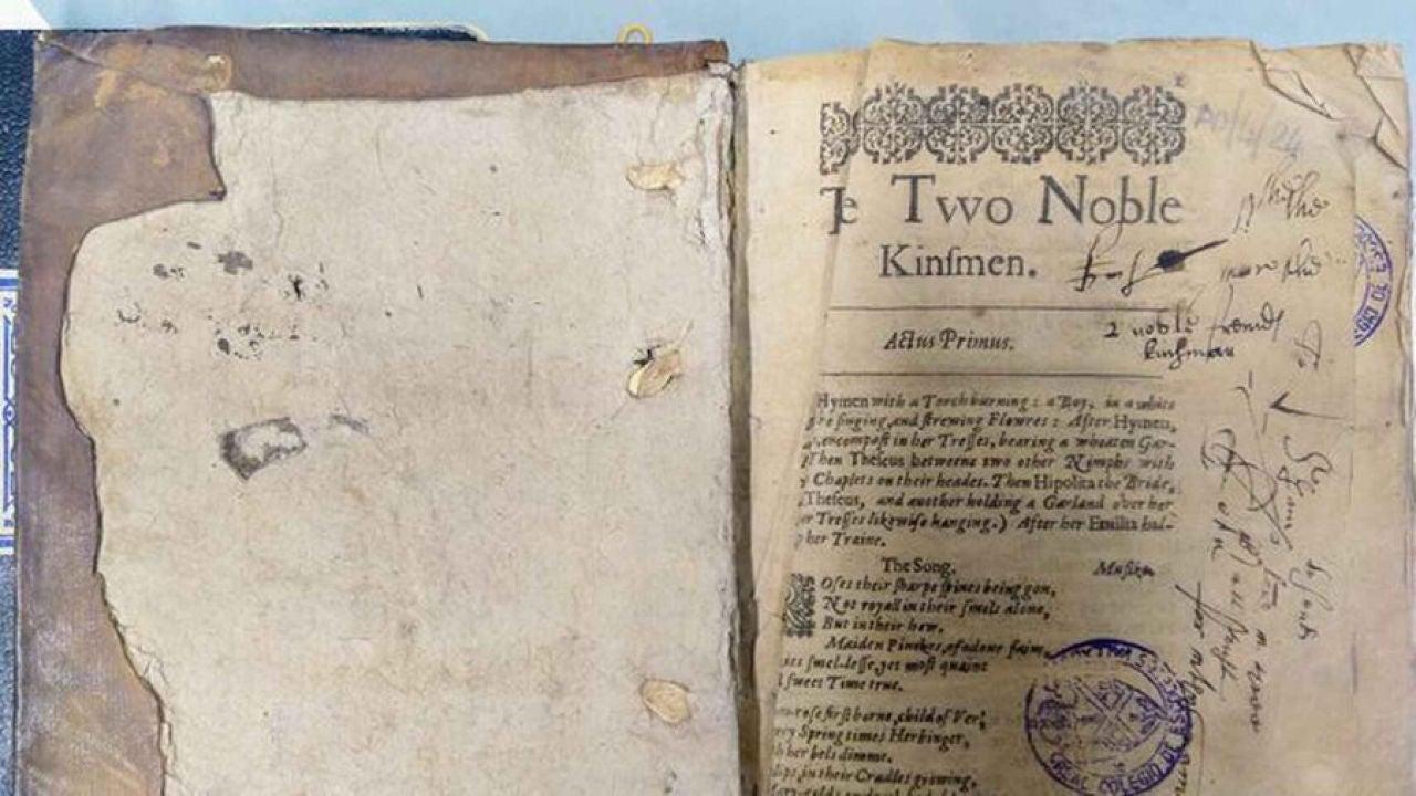 Encuentran en Salamanca la primera obra de Shakespeare llegada a España