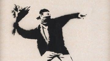 Bansky pierde los derechos de su obra más reconocida por permanecer en el anonimato
