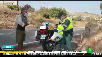 guardia civil mendigo