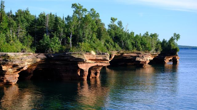 Apostle Islands, cuevas