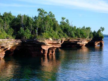 Apostle Islands, cuevas