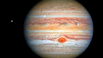 Imagen de Júpiter captada por el Telescopio Hubble