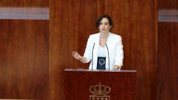 Díaz Ayuso en la Comunidad de Madrid (Archivo)
