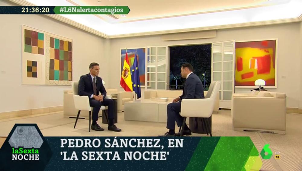 """La entrevista completa a Pedro Sánchez en laSexta Noche: """"Vamos a tener semanas complicadas, pero estamos mejor preparados"""""""