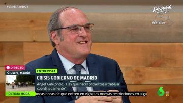 """Así responde Ángel Gabilondo a quienes le acusan de """"soso"""" y de estar """"dormido"""" por su forma de hacer política"""