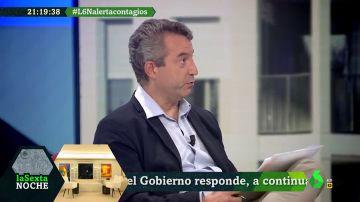"""César Carballo: """"Basta de echar la culpa a los ciudadanos, no son responsables de la gestión de la crisis"""""""