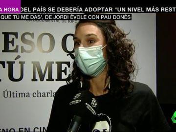 Elisabet Puñal, enfermera en el Hospital Moisès Borggi