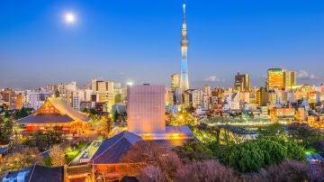 Plenilunio en Japón