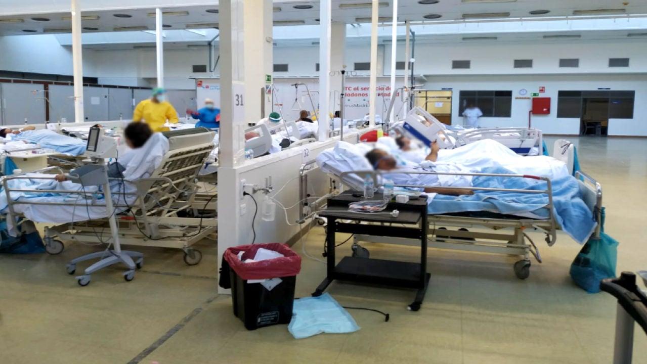 Gimnasio del Hospital de La Paz