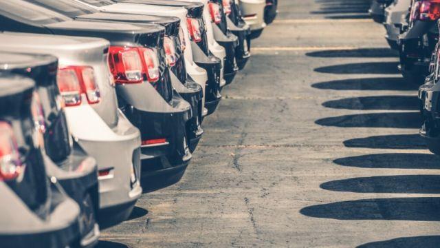 Flota de coches nuevos