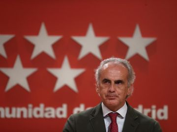 Enrique Escudero, consejero de Sanidad de la Comunidad de Madrid.