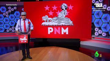 El Gran Wyoming presenta su partido PNM