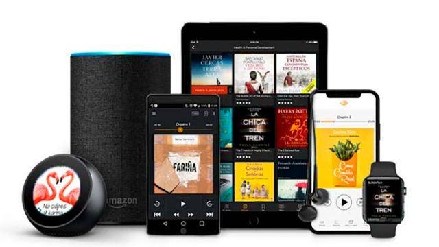 Audible se puede escuchar en varios dispositivos