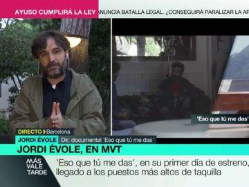 """Jordi Évole, sobre el emotivo alegato a la vida de Pau Donés en 'Eso que tú me das': """"Le encantaría tener una prórroga, incluso la pide"""""""