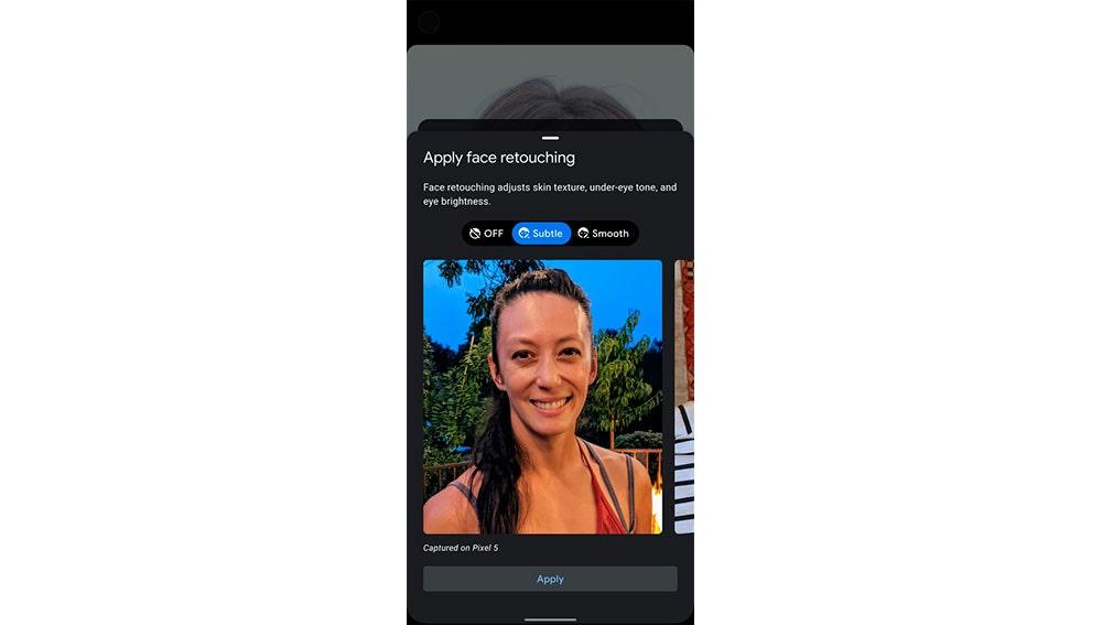 Nueva herramienta de selfies