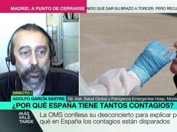 Adolfo García Sastre en Más Vale Tarde