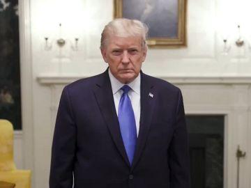 Donald Trump en la Casa Blanca tras dar positivo en coronavirus
