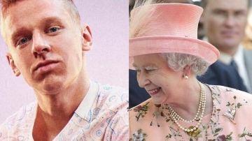 Zinchenko y la reina Isabel II