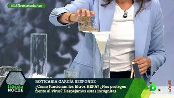 Coronavirus: El experimento que advierte del peligro de utilizar incorrectamente los filtros HEPA en los colegios