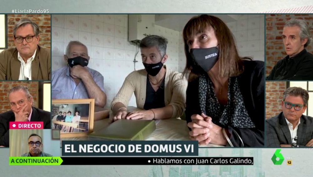 Las hijas y el marido de Elvira, fallecida por coronavirus, denuncian a la residencia del grupo DomusVi por presunto homicidio.