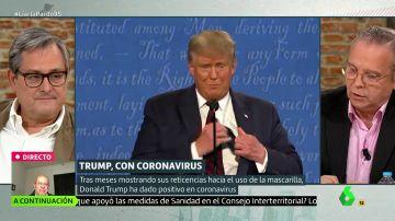 """Antonio Miguel Carmona: """"Donald Trump es un gran imbécil, me preocupa más su salud mental"""""""