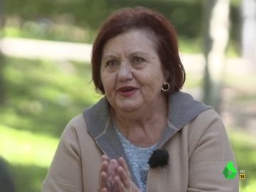 Ena Velasco, jubilada, explica en El Intermedio cómo ha sido el confinamiento para las personas mayores.
