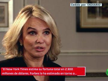 """Corinna: """"No soy quién para contradecir a quienes dicen que Juan Carlos tiene 2.300 millones"""""""