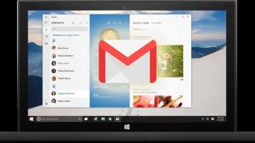Windows 10 con Gmail