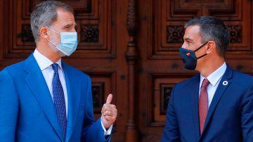 Rey Felipe y Pedro Sánchez coinciden en Barcelona