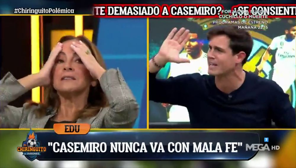 Edu Aguirre lo tiene claro: ¿Se perdonan más amarillas a Busquets o a Casemiro?