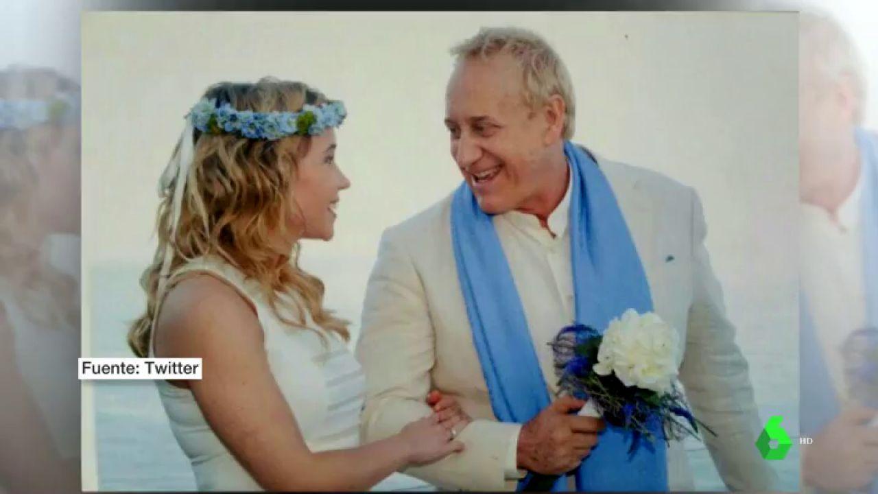 Josep Maria Mainat y su mujer, Angela Dobrowolski