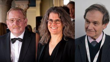 Roger Penrose, Reinhard Genzel y Andrea Ghez, Premio Nobel de Física 2020