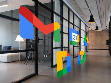 Nuevos logos de las principales aplicaciones ofimáticas de Google.
