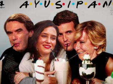 'La Ayusipandi', los apoyos firmes de Isabel Díaz Ayuso en el PP.