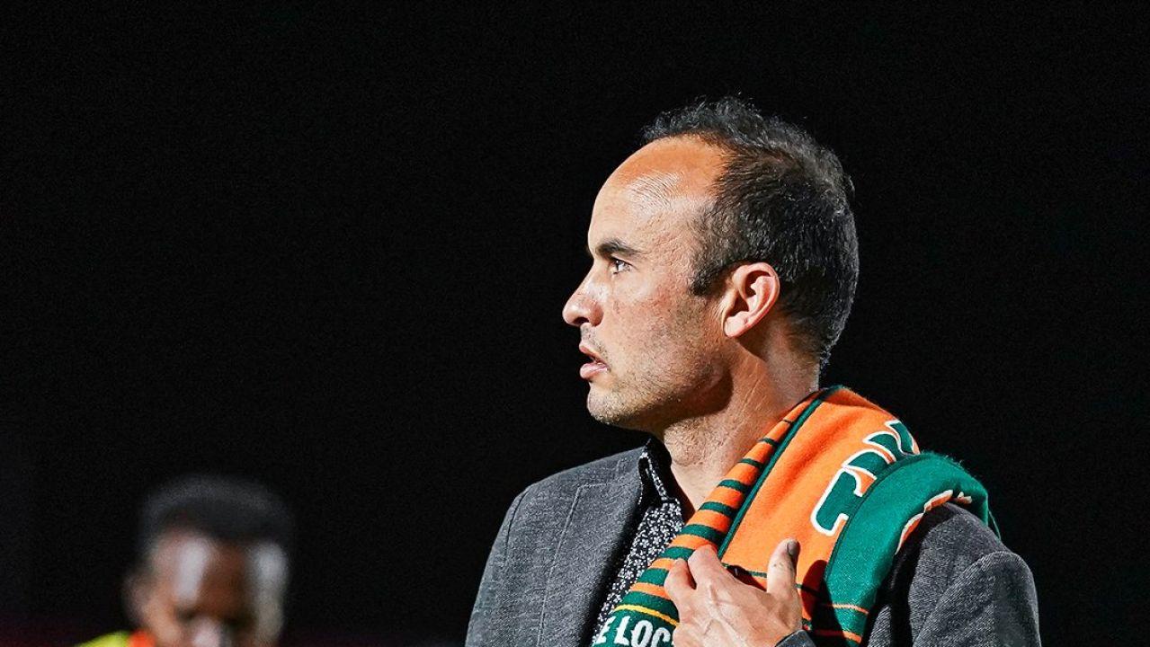 Landon Donovan, entrenador del San Diego Loyal